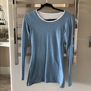 Lululemon reversible shirt, size 2